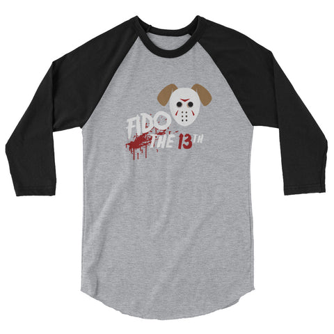Fido the 13th 3/4 sleeve raglan shirt