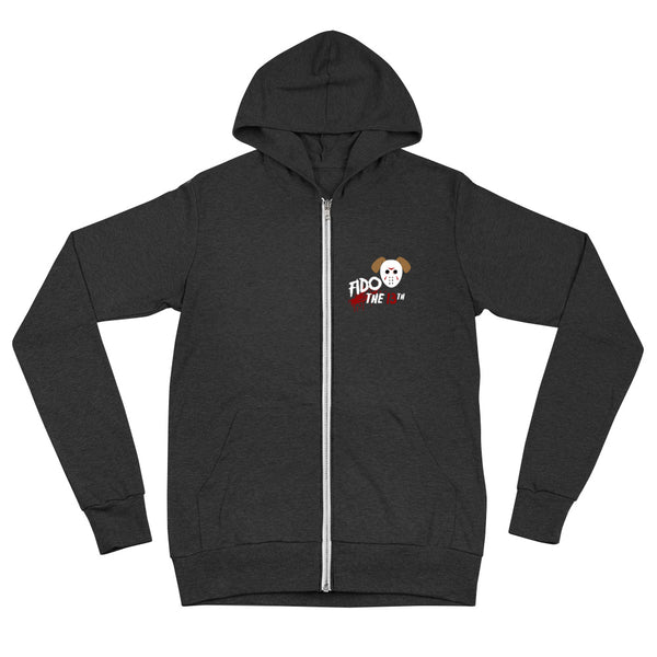 Fido the 13th Unisex zip hoodie