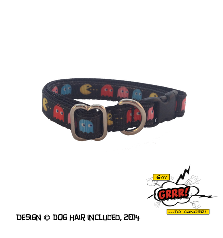 Pac-Man kitty collar