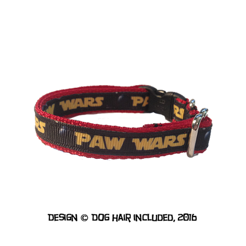 Paw Wars cat collar