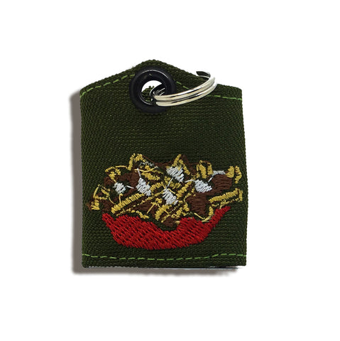 "Poutine ""Tag Bag"" medal protector and silencer"