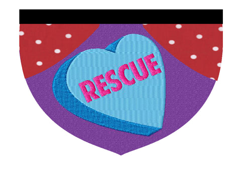 Rescue Conversation Heart Animatch Fundraiser