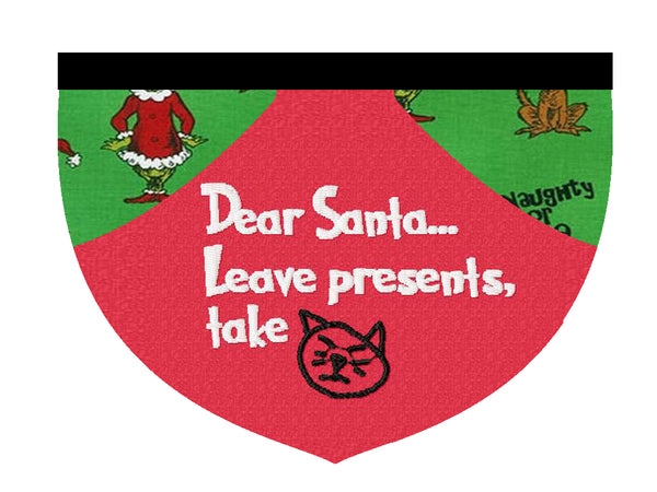 Leave presents, take the dog/cat - Laissez les cadeaaux, prenez le chien/chat!