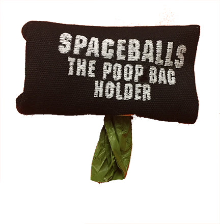 Spaceballs: The poop bag holder