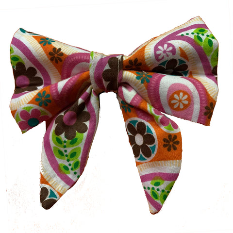 Retro Spring Sailor Bow
