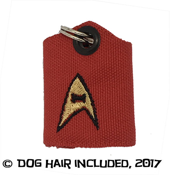 Star Trek inspired tag bag protector and silencer