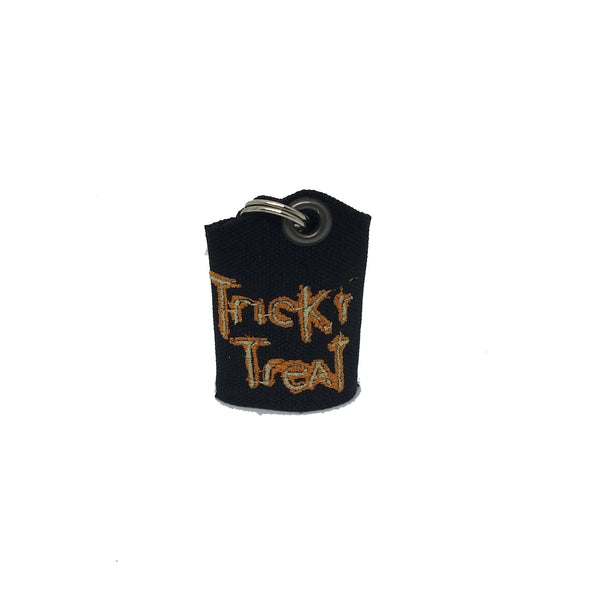 "Trick or Treat ""Tag Bag"" medal protector and silencer"
