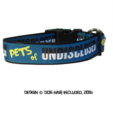 Pets of Undisclosed fundraiser dog collar