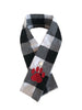 Hipster winter check scarves