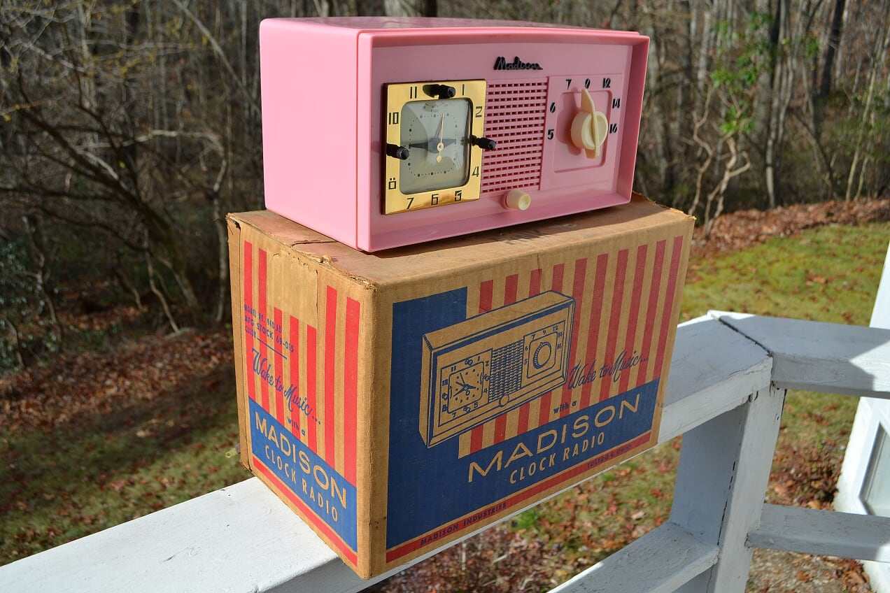 NOS TREASURE Pink Madison Model 940AU Original Box Just Found Holy Smoke!