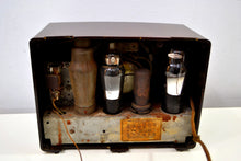 Load image into Gallery viewer, Umber Brown Bakelite 1936 Emerson Model 126 AM Vacuum Tube Radio Golden Age of Radio Beauty! - [product_type} - Emerson - Retro Radio Farm