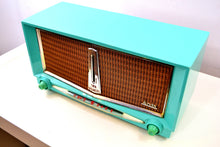 Load image into Gallery viewer, SOLD! - Jan 18, 2019 - Thunderbird Turquoise 1959 Arvin Model 956T Rare Vintage Tube AM Radio - [product_type} - Arvin - Retro Radio Farm