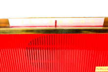 Load image into Gallery viewer, Corsair Red Trav-Ler 1959 Model T-213 AM Vintage Tube Radio Mid Century Marvel! - [product_type} - Travler - Retro Radio Farm