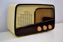 Load image into Gallery viewer, SOLD! - Jan. 22, 2020 - Cabana Ivory 1951 General Electric Model 218 AM FM Radio Works and Looks Great! - [product_type} - General Electric - Retro Radio Farm
