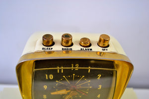SOLD! - June 12, 2019 - The Future is Here! - 1959 Philco Predicta Model H765-124 Tube AM Clock Radio