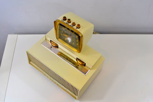 SOLD! - June 12, 2019 - The Future is Here! - 1959 Philco Predicta Model H765-124 Tube AM Clock Radio - [product_type} - Philco - Retro Radio Farm