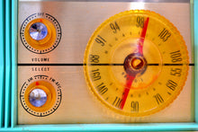 Load image into Gallery viewer, SOLD! - Nov. 1, 2019 - AM FM Turquoise and White Beauty Vintage 1962 Arvin Model 31R26 Tube Radio Amazing! - [product_type} - Arvin - Retro Radio Farm