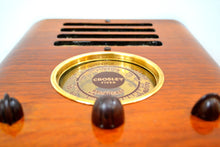 "Load image into Gallery viewer, World War Post Depression Era 1937 Crosley ""Fiver""  Model 517 Vacuum Tube AM Radio True Historic Beauty! - [product_type} - Crosley - Retro Radio Farm"