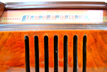 Load image into Gallery viewer, Flame Burl Scroll Front Wood 1946 Bendix Model 526E AM Tube Radio Drop Dead Gorgeous! - [product_type} - Bendix Aviation - Retro Radio Farm