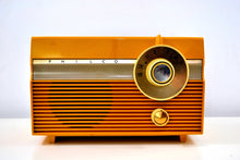 Load image into Gallery viewer, SOLD! - Mar 8, 2019 - Maize Yellow 1959 Philco Model E-812-124 Vintage Tube AM Radio Totally Awesome!! - [product_type} - Philco - Retro Radio Farm