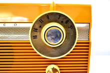 Load image into Gallery viewer, Maize Yellow 1959 Philco Model E-812-124 Vintage Tube AM Radio Totally Awesome!! - [product_type} - Philco - Retro Radio Farm