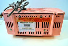 Load image into Gallery viewer, SOLD! - March 2, 2019 - Bellefonte Pink 1957 General Electric Model 912D Tube AM Clock Radio - [product_type} - General Electric - Retro Radio Farm