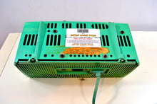 Load image into Gallery viewer, Atomic Blue Green 1957 General Electric Model 912D Tube AM Clock Radio - [product_type} - General Electric - Retro Radio Farm