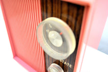 Load image into Gallery viewer, SOLD! - Feb 15, 2020 - Barbie Pink and Wood Grain Retro General Electric AM Solid State Radio Rare! - [product_type} - General Electric - Retro Radio Farm