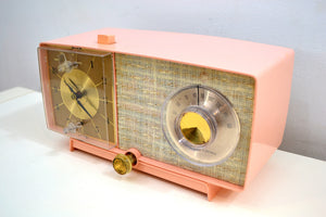 Chantelle Pink 1966 GE General Electric Model C-546 AM Vintage Radio Little Cutie! - [product_type} - General Electric - Retro Radio Farm