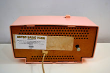 Load image into Gallery viewer, Chantelle Pink 1966 GE General Electric Model C-546 AM Vintage Radio Little Cutie! - [product_type} - General Electric - Retro Radio Farm