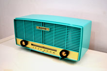 Load image into Gallery viewer, SOLD! - Mar 5, 2020 - Super Seafoam Green 1950s Firestone Model 4-A-188 Vintage AM Vacuum Tube Radio Mint Condition! - [product_type} - Firestone - Retro Radio Farm