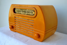 Load image into Gallery viewer, Gorgeous Golden Catalin 1945 Fada Temple Model 652 AM Radio, Pure Gold! - [product_type} - Fada - Retro Radio Farm