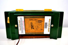 "Load image into Gallery viewer, Jade Green 1955 Zenith ""Broadway"" Model R511F AM Tube Radio - Give My Regards! - [product_type} - Zenith - Retro Radio Farm"