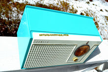 Load image into Gallery viewer, SOLD! - Nov 21, 2018 - Bel-Air Blue And White 1955 Zenith Model F510 AM Tube Retro Radio - [product_type} - Zenith - Retro Radio Farm
