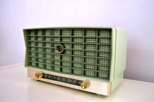 Load image into Gallery viewer, SOLD! - Mar 8, 2019 - Mint Green Vintage 1953 RCA Victor 6-XD-5 Tube Radio Pristine Condition Works Great!