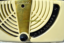 Load image into Gallery viewer, SOLD! - Dec. 17, 2018 - Antique Ivory White 1946 Zenith Consol-Tone Model 6-D-015 AM Tube Radio Looks Great! - [product_type} - Zenith - Retro Radio Farm