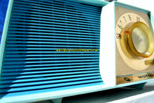 Load image into Gallery viewer, SOLD! - May 6, 2018 - TUXEDO BLUE Mid Century Retro 1962 Motorola A17B3 Tube AM Radio Cool Model Rare Color! Near Mint! - [product_type} - Motorola - Retro Radio Farm