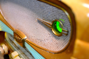 Made in France Mid Century Vintage 1958 Oceanic Surcouf Model Vacuum Tube Radio Rare and Beautiful Condition! - [product_type} - Oceanic - Retro Radio Farm