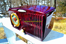 Load image into Gallery viewer, SOLD! - June 23, 2018 - AMAZON ECHO DOT™ INCLUDED - Brown Marbled Golden Age Art Deco 1952 General Electric Model 515F AM Tube Clock Radio Totally Restored! - [product_type} - General Electric - Retro Radio Farm