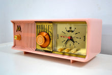 Load image into Gallery viewer, Marilyn Pink Mid Century 1956 Motorola 57CC2 Tube AM Clock Radio She's A Doll! - [product_type} - Motorola - Retro Radio Farm