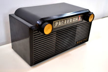 Load image into Gallery viewer, SOLD! - April 2, 2019 - Chalcedony Black 1952 Admiral 5G35N AM Tube Radio Mid Century Appeal in Spades! - [product_type} - Admiral - Retro Radio Farm