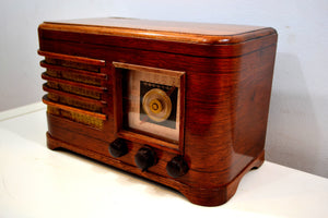 Solid Wood 1946 Crosley Model 56TN Vacuum Tube AM Radio True Historic Beauty! - [product_type} - Crosley - Retro Radio Farm