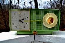 Load image into Gallery viewer, SOLD! - Apr 6, 2018 - SPRING GREEN 1958 GE General Electric Tube AM Radio Model C-438B Radio Mint Condition! - [product_type} - General Electric - Retro Radio Farm