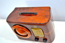 Load image into Gallery viewer, Golden Age of Radio 1939 Emerson Model 315 Wood Radio Ingraham Handcrafted Cabinet! Sounds Wonderful! - [product_type} - Emerson - Retro Radio Farm