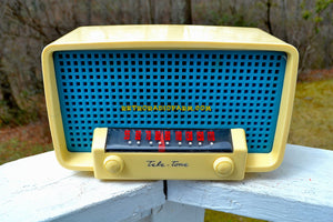 SOLD! - July 28, 2018 - SPIRIT OF 76 Red White & Blue 1948 Teletone Model  201 AM Tube Radio Rare Looks and Works Great! - [product_type} - Teletone - Retro Radio Farm