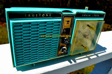 Load image into Gallery viewer, SOLD! - Oct 25, 2018 - Azurite Blue1964 Truetone Model DC2614 Solid State Clock Retro Radio - [product_type} - Truetone - Retro Radio Farm