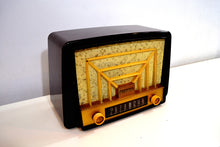 Load image into Gallery viewer, Lustrous Brown and Boucle Grill Vintage 1950s Westinghouse H-327T60 AM Radio Looks Snazzy! - [product_type} - Westinghouse - Retro Radio Farm