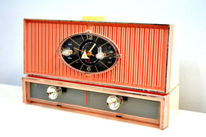 Cameo Pink Mid Century 1961-ish Philco Model Kxxx Vacuum Tube AM Radio Sounds Great! - [product_type} - Philco - Retro Radio Farm