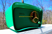 Load image into Gallery viewer, SOLD! - July 26, 2018 - NEVER BEFORE SEEN GREEN 1959 CBS Model T200 AM Tube Radio So Cute! Rare As Heck! - [product_type} - CBS - Retro Radio Farm