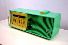 Load image into Gallery viewer, Sea Green Mid Century Retro Jetsons 1957 Motorola 57H Tube AM Radio Great Color Sounds Wonderful! - [product_type} - Motorola - Retro Radio Farm